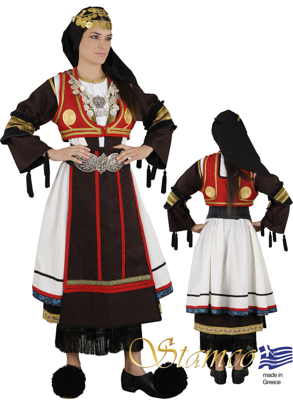 Traditional Dress Karaguna Woman
