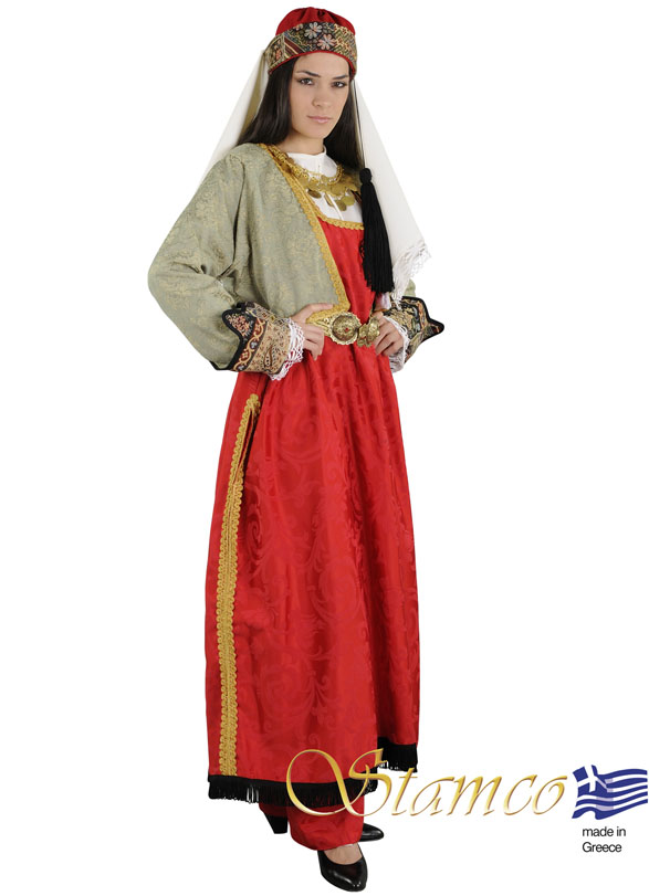 Traditional Dress North Aegean Woman