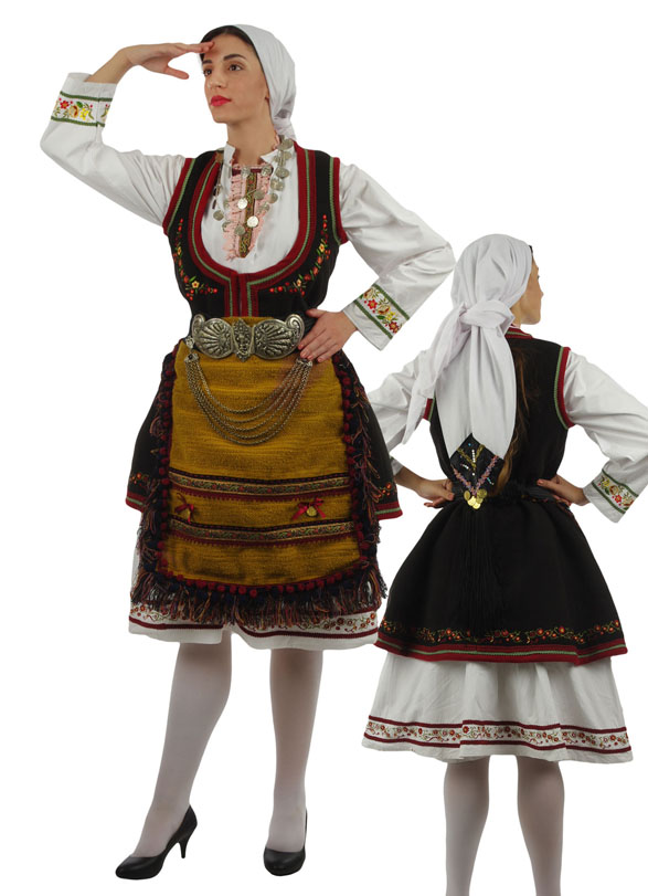 Traditional Dress Florina Embroidery