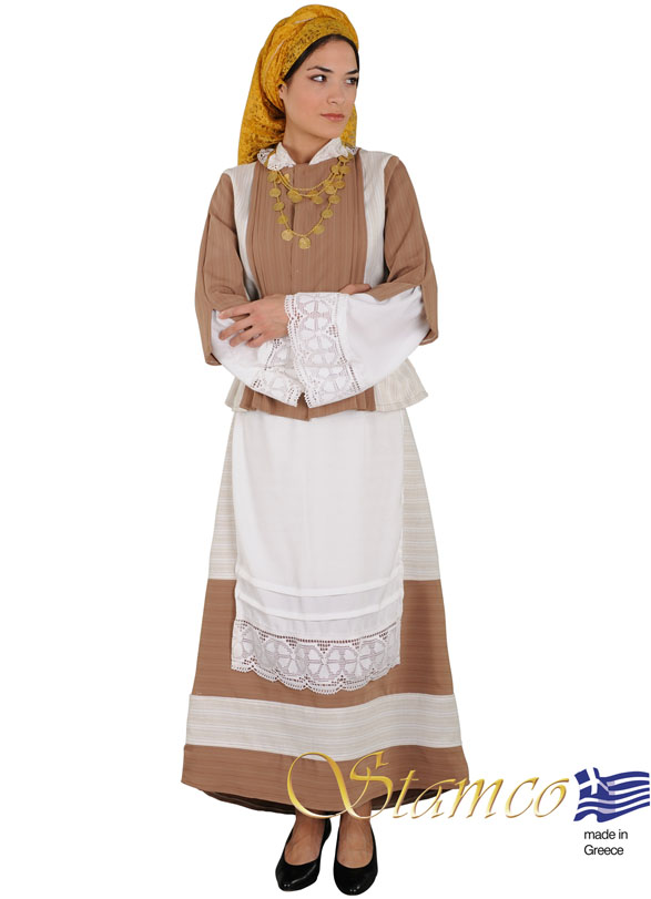 Traditional Dress Lemnos Limnos Aegean