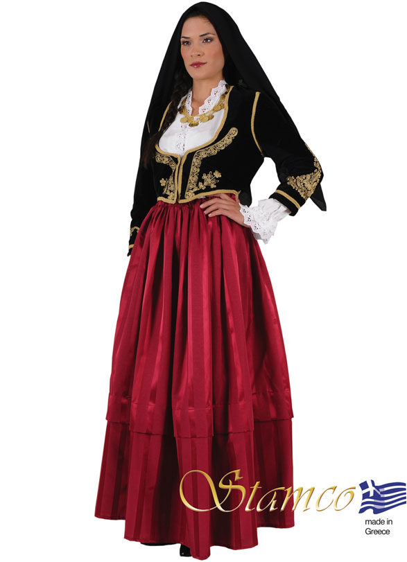 Traditional Dress Cyprus Woman