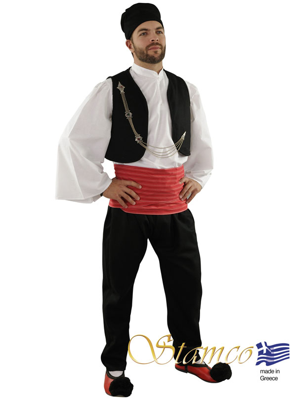 Traditional Dress Vlach Red Sash