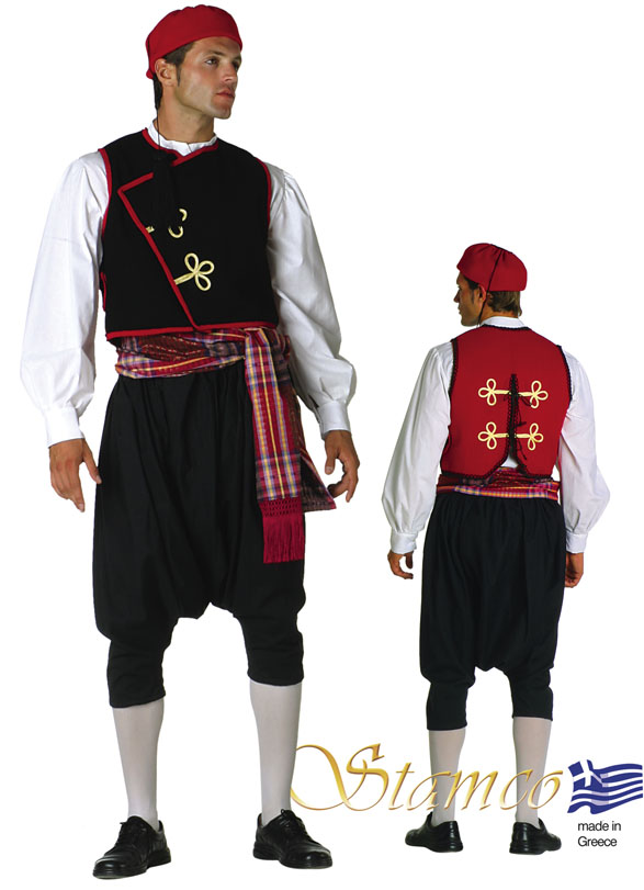 Traditional Dress Kyklades Man