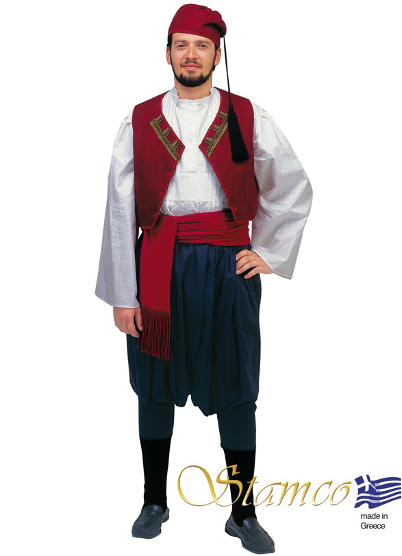 Traditional Dress Aegean Islands Man