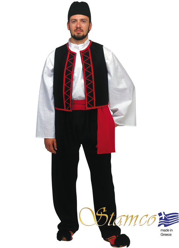 Traditional Dress Sarakatsanos Man