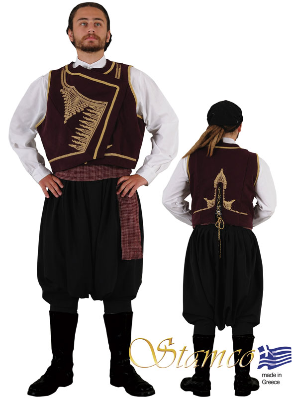 Traditional Dress Cyprus Man
