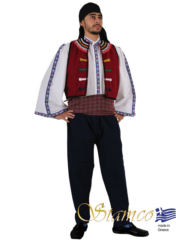Traditional Dress Thrace Evros Man