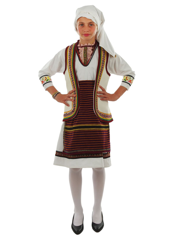 Traditional Dress Florina Girl