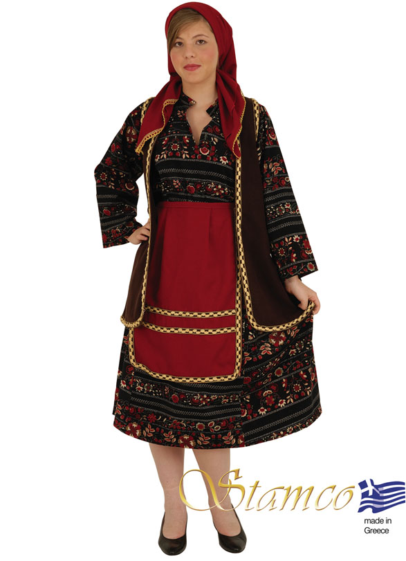 Traditional Dress Vlachopoula