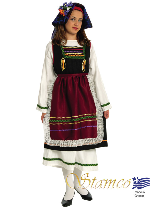 Traditional Dress Thrace Girl